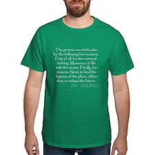 Five reasons to drink sake (funny Engrish) T-Shirt