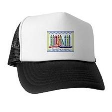 ... Crayons Trucker Hat