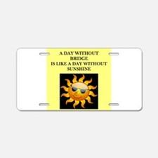 duplicate bridge Aluminum License Plate