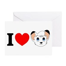 Cute Lion Greeting Cards (Pk of 10)