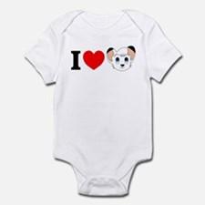 Cute White lion Infant Bodysuit