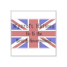 The British Government Sticker