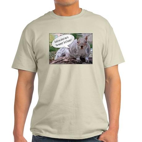 Squirrel Wisdom Ash Grey T-Shirt