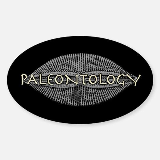 Paleontology Diatom Oval Decal