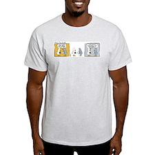 "WTD: ""Mind Over Matter"" Ash Grey T-Shirt"