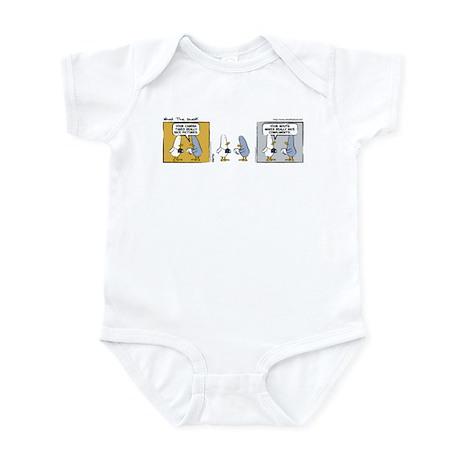 """WTD: """"Mind Over Matter"""" Infant Bodysuit"""