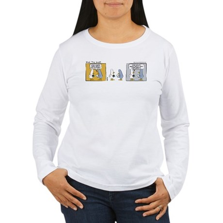 "WTD: ""Mind Over Matter"" Women's Long Sleeve T-Shir"