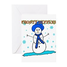 Frosty Nipples Greeting Cards (Pk of 10)