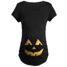 Jack O Lantern Maternity T-Shirt
