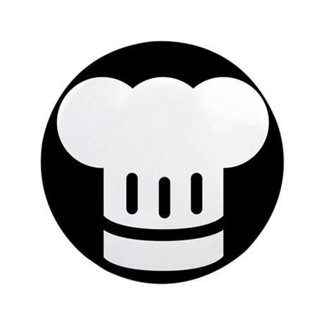 """Chef Ideology 3.5"""" Button"""
