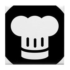Chef Ideology Tile Coaster