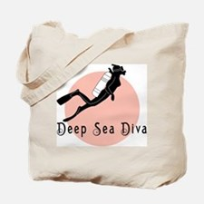 Deep Sea Diva Tote Bag