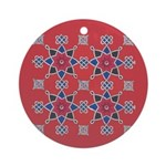 Red Beauty Ornament (Round)