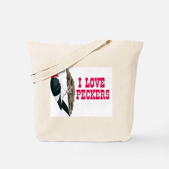 LOVE PECKERS Tote Bag