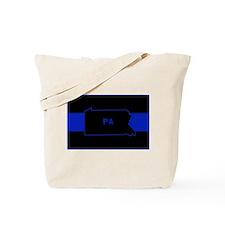 Pennsylvania Thin Blue Line Tote Bag