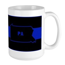Pennsylvania Thin Blue Line Mug