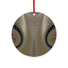 Fractal 181 Round Ornament