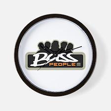 Bass People Wall Clock