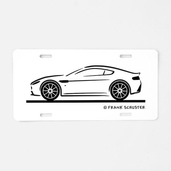 Aston Martin Vantage S Aluminum License Plate