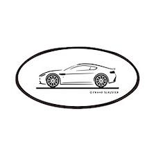 Aston Martin Vantage S Patches