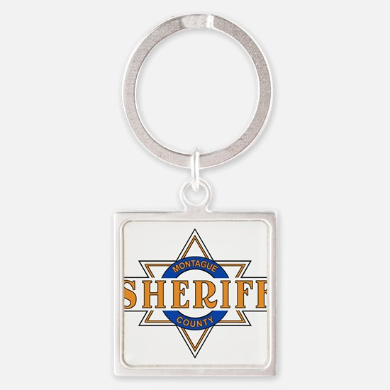 Sheriff Buford T Justice Door Emblem Keychains