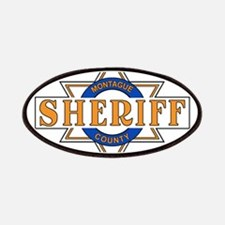 Sheriff Buford T Justice Door Emblem Patches