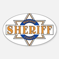 Sheriff Buford T Justice Door Emblem Decal