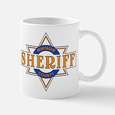 Sheriff Buford T Justice Door Emblem Mug