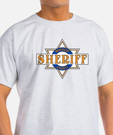 Sheriff Buford T Justice Door Emblem T-Shirt