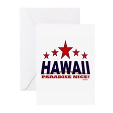 Hawaii Paradise Nice Greeting Cards (Pk of 20)