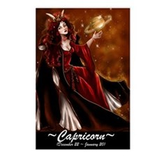 Goddess Capricorn Postcards (8)