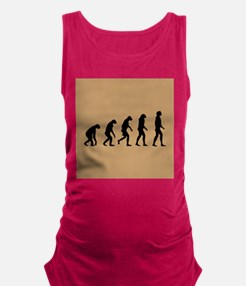 The Ascent of Man Maternity Tank Top