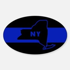 ThinBlueLineNewYorkState Decal