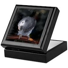 Timneh Africn Grey Keepsake Box