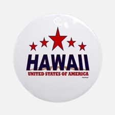 Hawaii U.S.A. Ornament (Round)