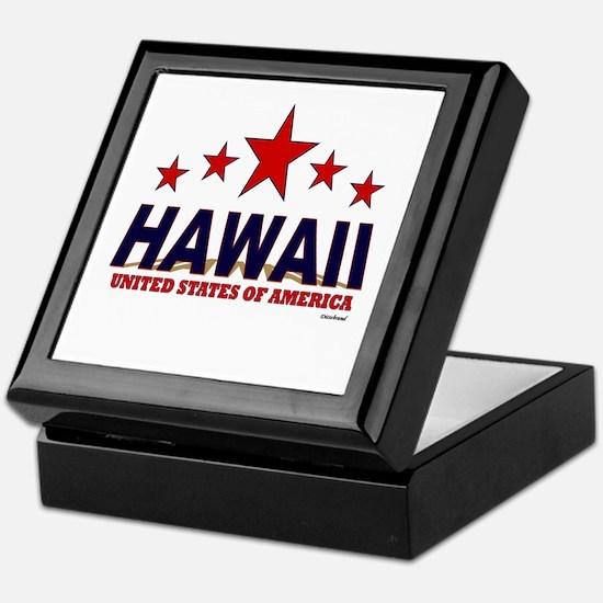 Hawaii U.S.A. Keepsake Box