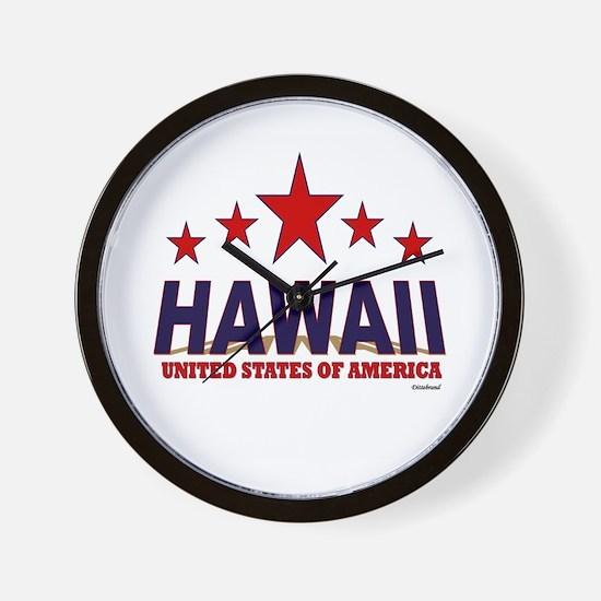 Hawaii U.S.A. Wall Clock