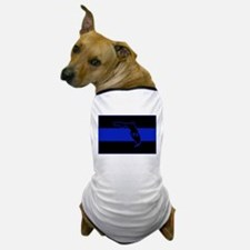 Thin Blue Line Florida Dog T-Shirt