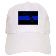 Thin Blue Line Florida Baseball Baseball Cap