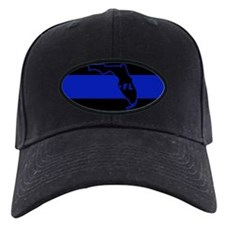 Thin Blue Line Florida Baseball Hat