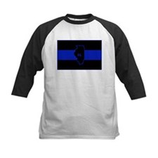 Thin Blue Line Illinois Baseball Jersey