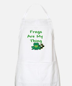 Frogs Are My Thing BBQ Apron