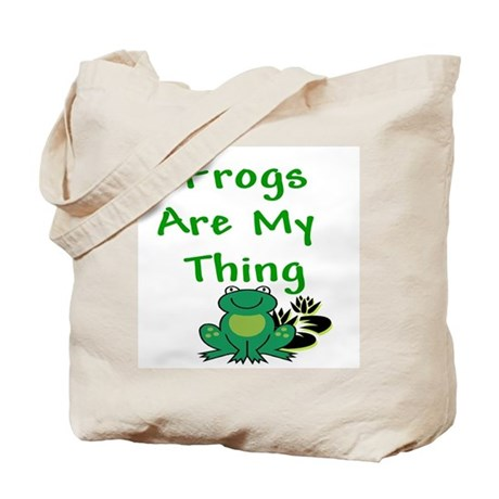 Frogs Are My Thing Tote Bag