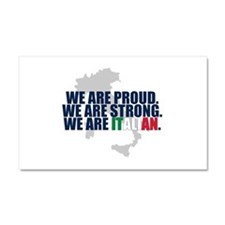 Proud Italian Car Magnet 20 x 12