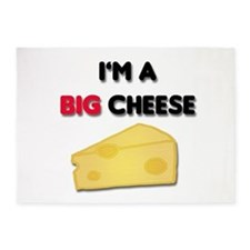 Im A Big Cheese 5'x7'Area Rug