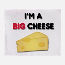 Im A Big Cheese Throw Blanket