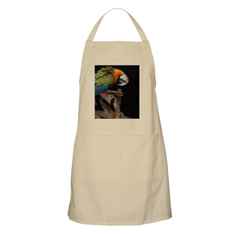 harlequin macaw Apron