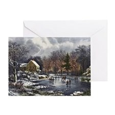 Early Winter Greeting Card