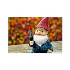 Gnome Field II Rectangle Magnet