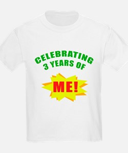Celebrating Me! 3rd Birthday T-Shirt